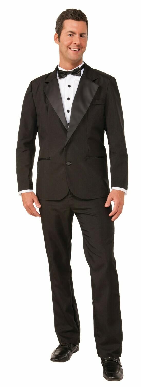 Instant Zip Up Tuxedo