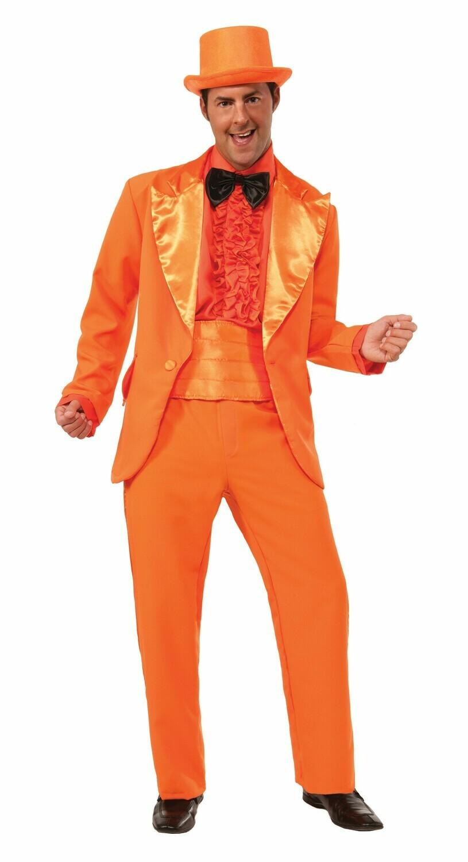 Orange Prom Tuxedo