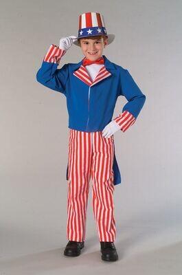 Kids Uncle Sam Costume