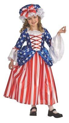 Deluxe Kids Betsy Ross Costume