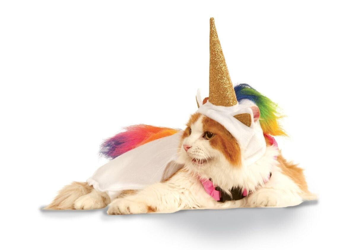 Light Up Unicorn Pet Costume