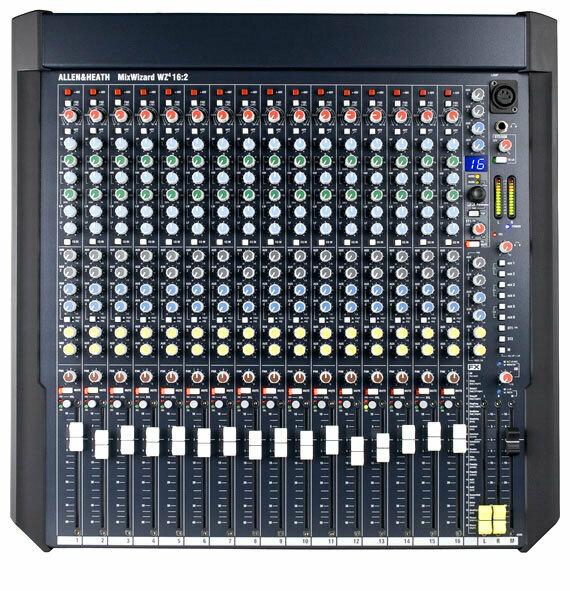 Allen & Heath MixWizard4 16:2 - Professional Mixing Console #ALWZ4162 MFR #AH-WZ416:2