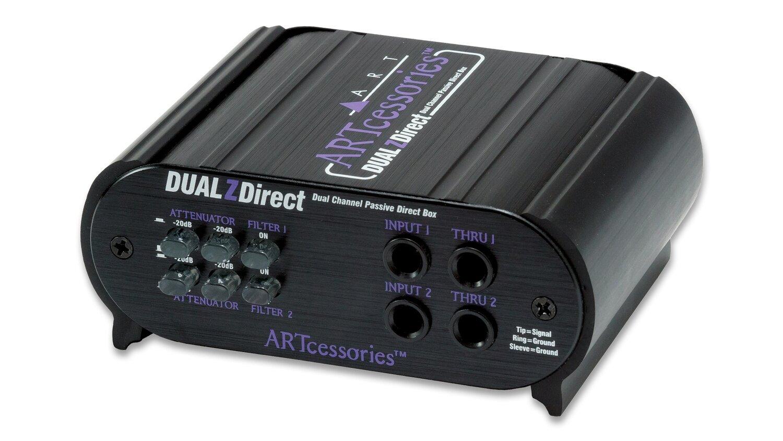 ART DUALZDirect - Professional Dual-Channel Passive Direct Box