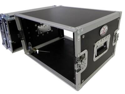 ProX X-8UE Deluxe Flight Case for Effects Rack (8 RU) #PRX8UE MFR #X-8UE