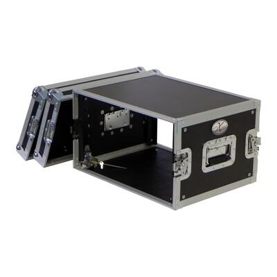 ProX X-6UE Deluxe Flight Case for Effects Rack (6 RU) #PRX6UE MFR #X-6UE