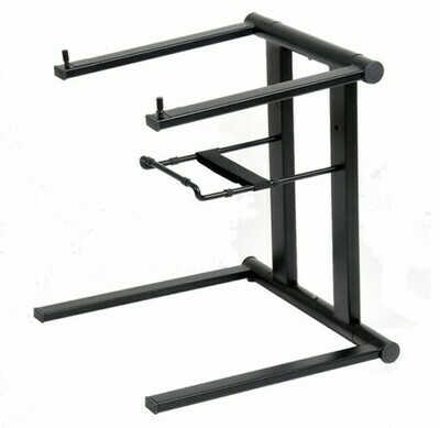 ProX T-LPS600B Foldable Portable Laptop Stand with Adjustable Shelf (Black) #PRTLPS600B MFR #T-LPS600B