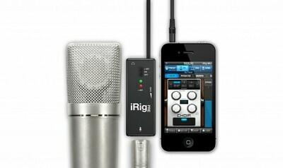 IK Multimedia iRig Pre Microphone Interface #IKIRIGPRE MFR #IP-IRIG-PRE-IN
