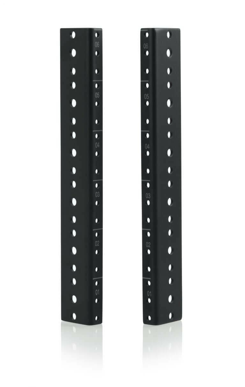 Gator Cases Rack Rail for 6 RU Rackmount Cases #GA6URR MFR #GRW-RACKRAIL-06U