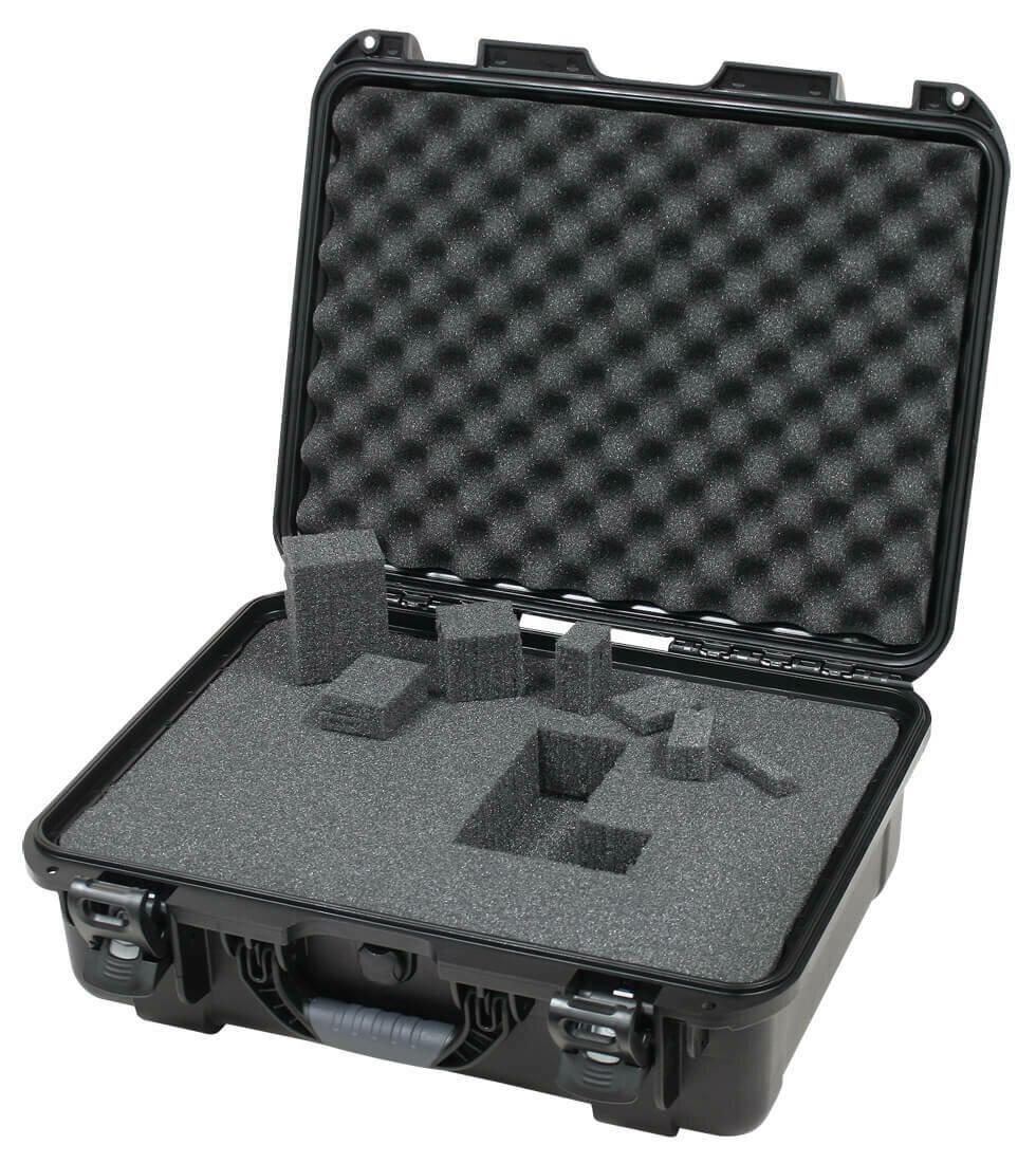 "Gator GU-1813-06-WPDF Titan Series Utility Case with Diced Foam - 18"" x 13"" x 6.9"""