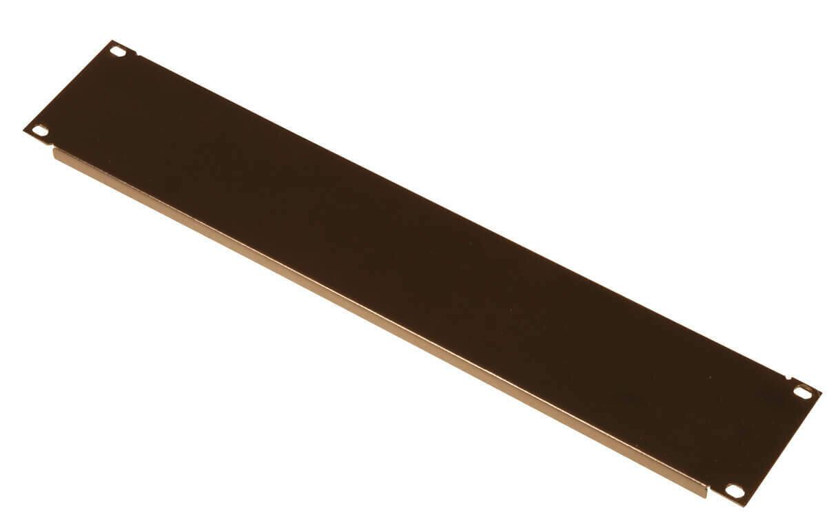 Gator Cases Rackworks 1.2mm Steel Flanged Panel (1 RU) #GAGRWPNLSTF1 MFR #GRW-PNLSTFG1