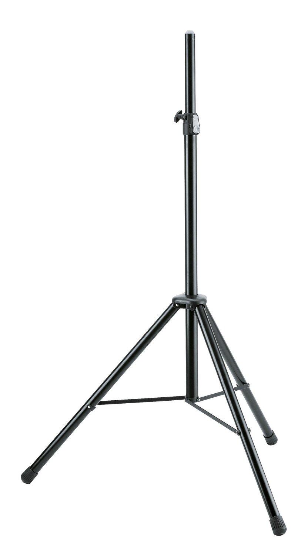 K&M 21435 Adjustable Speaker Stand (Black) #KM21435B MFR #21435-177-55