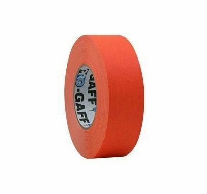 "ProTapes Pro Gaffer Tape (2"" x 50 yd, Fluorescent Orange) #PRGT50FO MFR #001UPCG250MFLORA"