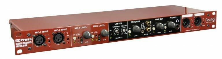 Radial Engineering mPress Modular Broadcast Press Box #RAMPBCPB MFR #R800 8010 00