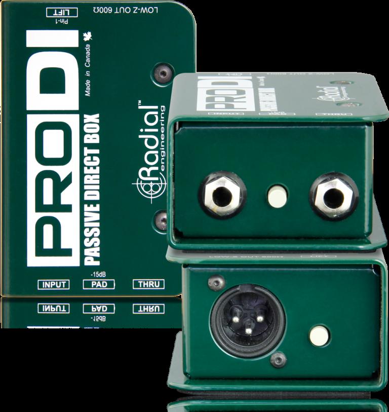 Radial Engineering ProDI Direct Box #RAPRODI MFR #R800 1100