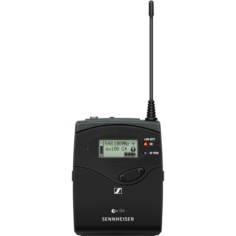 Sennheiser SK 100 G4 Wireless Bodypack Transmitter (A1: 470 to 516 MHz) #SESK100G4A1 MFR #SK 100 G4-A1