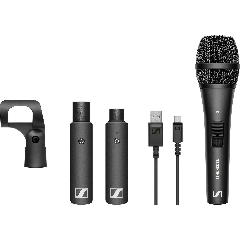 Sennheiser XSW-D VOCAL SET Digital Wireless Plug-On Microphone System with Handheld Mic (2.4 GHz) #SEWXSVSTR MFR #XSW-D VOCAL SET