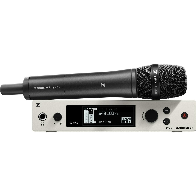 Sennheiser EW 500 G4-945 Wireless Handheld Microphone System with MMD 945 Capsule (AW+: 470 to 558 MHz) #SEEW500G494W MFR #EW 500 G4-945-AW+