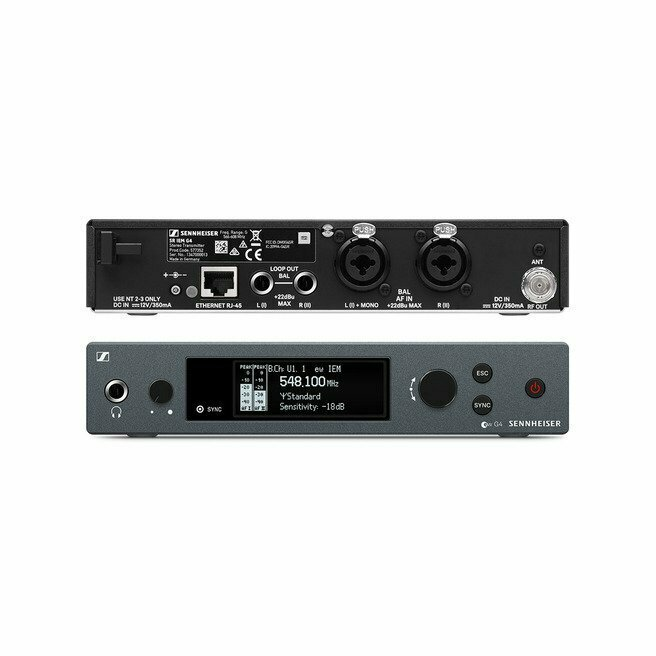 Sennheiser SR IEM G4 Stereo Transmitter (A1: 470 to 516 MHz) #SESRIEMG4A1 MFR #SR IEM G4-A1