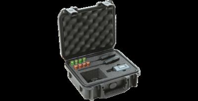 SKB iSeries Military Standard Waterproof Sennheiser EW Wireless Mic System Case #SK3I09074SWK MFR #3I0907-4-SWK