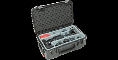 SKB iSeries 2918-10DT Waterproof Case with Think Tank-Designed Photo Dividers & Lid Foam (Black) #SK3I291810DT MFR #3I-2918-10DT