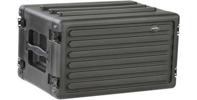 SKB 6U Roto Shallow Rack Case with Steel Rails #SK1SKBR6S MFR #1SKB-R6S