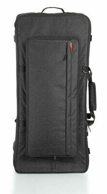 Gator Cases Transit Keyboard Bag for 61-Note Slim Keyboards #GAGTK61SLBLK MFR #GTK61SL-BLK