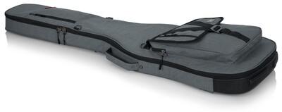 Gator Cases Transit Series Gig Bag for Bass Guitar (Light Gray) #GAGTBASSGRY MFR #GT-BASS-GRY