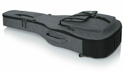 Gator Cases Transit Series Gig Bag for Acoustic Guitar (Light Gray) #GAGTACOUSTGY MFR #GT-ACOUSTIC-GRY