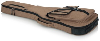 Gator Cases Transit Series Gig Bag for Electric Guitar (Tan) #GAGTELECCGTN MFR #GT-ELECTRIC-TAN
