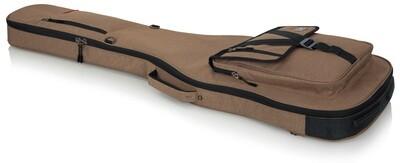 Gator Cases Transit Series Gig Bag for Bass Guitar (Tan)  #GAGTBASSTAN MFR #GT-BASS-TAN