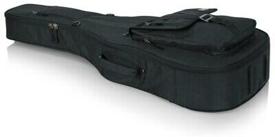 Gator Cases Transit Series Gig Bag for Acoustic Guitar (Charcoal Black)  #GAGTACOUSTBK MFR #GT-ACOUSTIC-BLK