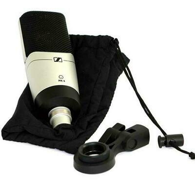 Sennheiser MK 4 Large-Diaphragm Studio Condenser Microphone #SEMK4 MFR #504298