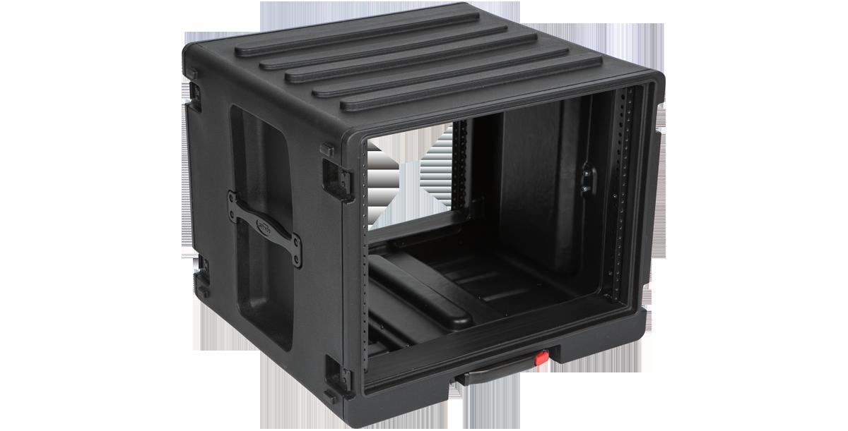 SKB 8U Roto Rolling Rack Case  #SK1SKBR8UW MFR #1SKB-R8UW