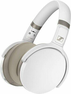 Sennheiser HD 450BT Noise-Canceling Wireless Over-Ear Headphones (White) #SEHD450BTW MFR #508387