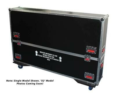 """Gator Cases G-Tour ATA Case For 2 60 To 65"""" LED/LCD/Plasma Screens #GAGTLCDT6065 MFR #G-TOURLCDV2-6065-X2"""