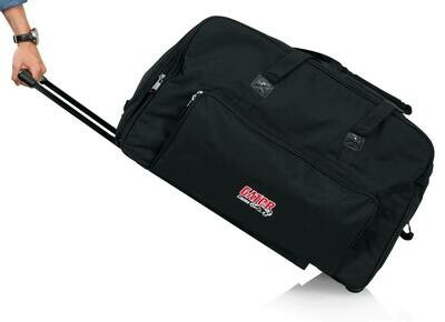 """Gator Cases GPA-715 Kit with Two Rolling Speaker Bags for Most 15"""" Speakers #GAGPA715PK"""