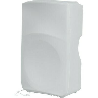 "Gator Cases Stretchy Speaker Cover for Select 15"" Portable Speaker Cabinet (White)  #GAGPASTRC15W MFR #GPA-STRETCH-15-W"