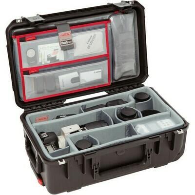 SKB iSeries 2011-7 Case with Think Tank Photo Dividers & Lid Organizer (Black) #SK3I20117DL MFR #3I-2011-7DL