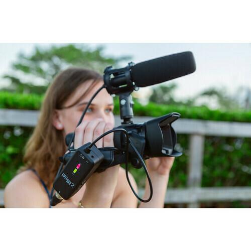 IK Multimedia iRig Pre 2 Ultracompact XLR Microphone Interface #IKPIRIGPRE2I  MFR #IP-IRIG-PRE2-IN