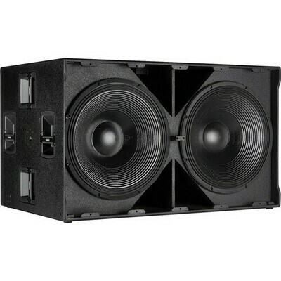 """RCF SUB 9007-AS Active 2 x 21"""" Subwoofer with RDNet Control #RCSUB9007ASMFR #SUB9007-AS"""