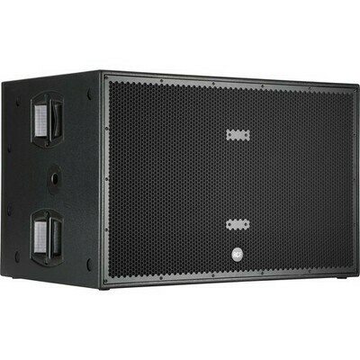 RCF SUB 8006-AS Professional Series Active Subwoofer (Black) #RCSUB8006ASMFR #SUB-8006-AS