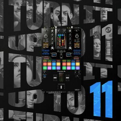 Pioneer DJ DJM-S11SE Professional 2-Channel Battle Mixer for Serato DJ Pro / rekordbox (Special-Edition Throwback Design) #PIDJMS11SE MFR #DJM-S11-SE