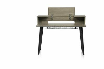 Gator Elite Series Keyboard Furniture 61 Note - GRY GFW-ELITEKEYTBL61-GRY