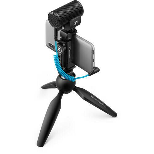 Sennheiser MKE 200 Mobile Kit Ultracompact Camera-Mount Directional Microphone with Smartphone Recording Bundle #SEMKE200MK  MFR #509256