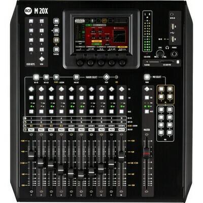 RCF M 20X Desktop 20x14 Digital Mixer with USB #RCM20X  MFR #M20X