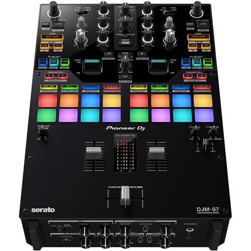 Pioneer DJ DJM-S7 2-Channel DJ Battle Mixer #PIDJMS7 MFR #DJM-S7