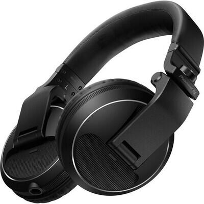 Pioneer DJ HDJ-X5 Over-Ear DJ Headphones (Black) #PIHDJX5K MFR #HDJ-X5-K