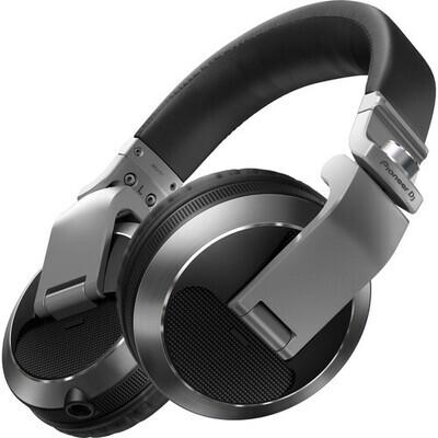 Pioneer DJ HDJ-X7 Professional Over-Ear DJ Headphones (Silver) #PIHDJX7S MFR #HDJ-X7-S