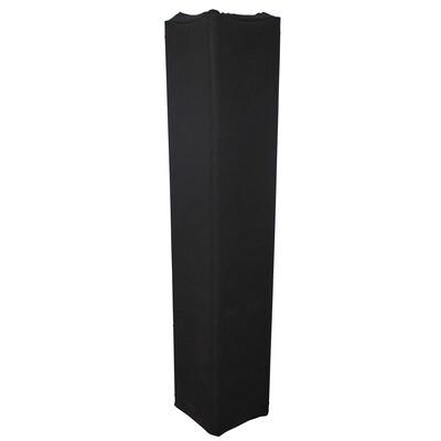 Black 9.84Ft. 3M Lycra Cover Scrim Sleeve fits 12in Quad Box Truss Segment ProX XTC-SQ984TS-B