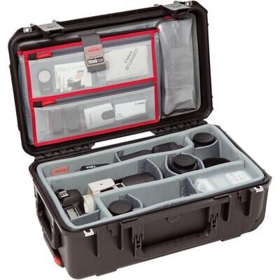 SKB iSeries 2011-7 Case with Think Tank Photo Dividers &Lid Organizer (Black) #SK3I20117DL MFR #3I-2011-7DL